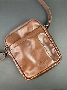 Modern Leather Messenger Shoulder Bag Crossbody Satchel AU