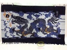 "Chinese Loong Folk Handmade Art Decor Wall Hanging Batik Tapestry-Dragon 33x54"""