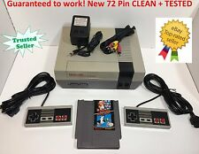 Nintendo NES Console Original REFURBISHED System Bundle Game Super Mario Bros.
