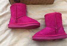 LAMO Toddler Girls Pink Boots Size 8