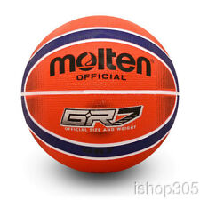 """Molten Gr7-Rb Premium Rubber Outdoor Basketball Official Size 7 (29.5"""") Red/Blue"""