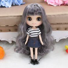 """8/"""" Neo Middle Blythe Doll Joint Body Nude Doll from Factory JSW90001+Gift"""
