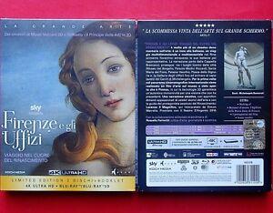 2 blu ray rare box set limited edition 4k uhd + 3D firenze e gli uffizi florence