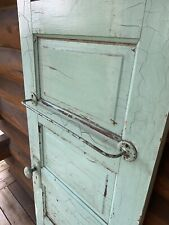 Antique Vintage Wood Wooden 5 Panel Closet Pantry Door