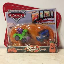 Disney CARS 1 MINI ADVENTURES Race Roads Holiday Special! Mater & Sarge RARE