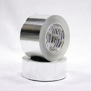 Plain Aluminium Foil Tape-Australian Made Quality Product  (1 roll x72mm x 50m)