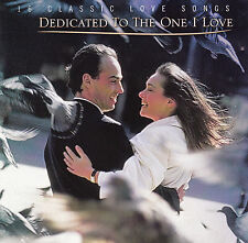DEDICATED TO THE ONE I LOVE -Various-1998 16 Track CD