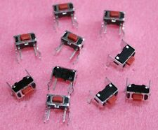 10x Kurzhub-Taster , Mikrotaster, horizontale Betätigung , APLS