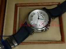 Breguet Marine Automatic Big Date Stainless Steel 39mm Silver Dial 5817ST/12/5V8