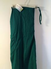 Unisex Prism Medical® Scrub Pants = Solid Forest Green Size 3X Nwt
