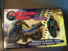 1995 BANDAI Saban's MASKED RIDER Action Figure COMBAT CHOPPER SET MISB