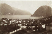 Italia Lago Di Como Vintage Albumina Ca