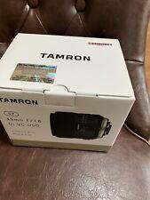 Tamron SP F013 45mm F/1.8 VC Di USD Lens For Nikon. Mint condition!