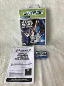 Leap Frog Leapster Explorer Learning Game STAR WARS JEDI READING