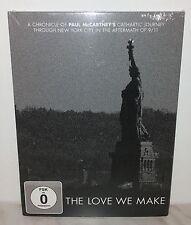 DVD PAUL  MCCARTNEY - LOVE WE MAKE - NUOVO NEW
