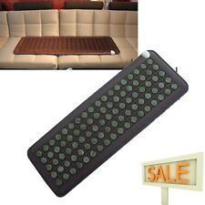 Jade Stones Ions InfraRed Multi Energy Heal Pad Tourmaline Heating mat Relax Usa