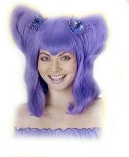 Purple Pigtail Butterfly Clips Fairy Tale Wig Club Kid Pig Tails