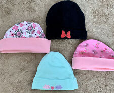 Female Infant Hats Bundle. Disney Baby And More. 0-6 Months.