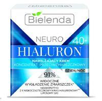 Bielenda Neuro Hialuron Moisturizing Anti Wrinkle Cream Concentrate 40+Day Night