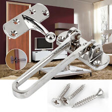 Zinc Alloy Security Window Door Guard Restrictor Lock Latch Safety Chain Catch