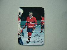 TOPPS 1977/78 NHL INSERT GLOSSY PHOTO HOCKEY CARD #7 GUY LAFLEUR NM SHARP+ TOPPS