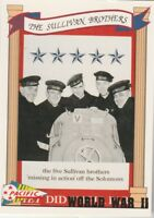 FREE SHIPPING-MINT-1992 Pacific World War II #49 The Sullivan Brothers