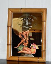 """BRAND NEW ~ TRADER VIC'S """"PRIVATE SELECTION"""" LARGE 23.5"""" BAMBOO DECORATED MIRROR"""