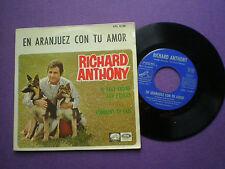 RICHARD ANTHONY En Aranjuez Con Tu Amor +3 SPAIN EP 1967