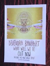 DEVENDRA BANHART  - MAGAZINE CLIPPING / CUTTING- 1 FULL PAGE ADVERT