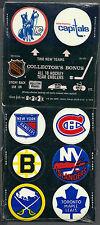 1974 NHL Team Emblem Set (18), Scouts, Seals, etc.