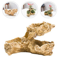 1pc Tree Root Design Flowerpot Creative Tabletop Plant Container