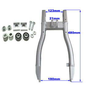 Aluminum Rear Swingarm For 125cc 140cc 150cc 160cc 190cc Pit Dirt Bike Motor