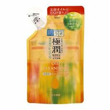 Rohto Hadalabo Gokujyun Cleansing Oil Make Up Remover Refill 180ml Japan
