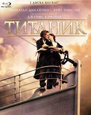 *NEW* Titanic (Blu-ray, 2012, 2-Disc Set) English,Russian,Polish,Ukranian