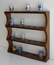 Shot Glass Display Rack Curio Wall Shelf Case NO DOOR, SC05