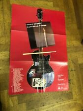 """Sonic Youth """"Daydream Nation"""" Promo Poster 1988 real orig."""