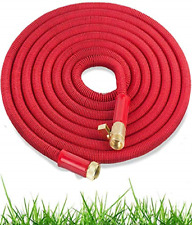 Expandable Garden Hose 50 Ft Heavy Duty Water Hose Retractable Hose