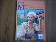 COUNTRY MUSIC PEOPLE - MAGAZINE - APRIL 1991 - TAMMY WYNETTE, LULA BELLE