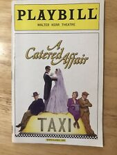 Playbill - A Catered Affair - May 2008 - Tom Wopat - Harvey Fierstein