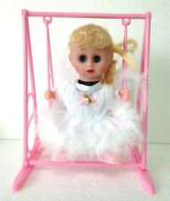 SWING & SINGING WHITE PRINCESS TOY FOR GIRLS LIGHT & SOUND - IDEAL GIFT !