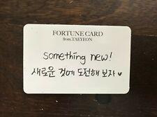 Girls Generation SNSD Taeyeon Fortune scratch card concert 's one kpop #18K