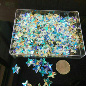 30PC AB Starfish Crystal Faceted Prism Glass Suncatcher Chandelier Pendant Decor