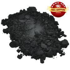 BLACK IRON OXIDE POWDER PIGMENT USP PHARMACEUTICAL GRADE  for DIY 1 OZ