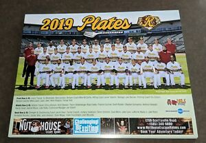 2019 AAA SGA Rochester Red Wings / PLATES UPDATE team photo picture rookie