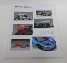 TSM MODEL TRUE SCALE MINIATURES CATALOGO CATALOG CATALOGUE MODELLI ANNO 2018