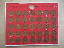 Presidential Hall Of Fame 35 Coin Collection