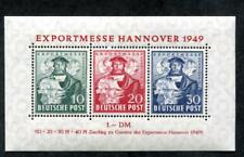 Germany 664 MNH 1949 Souvenir Sheet