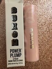 Buxom Power-full Pump Lip Balm Full Size New In Box In Shade BIG O (sheer Pink)