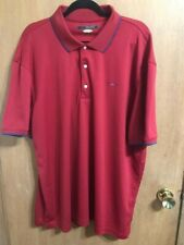 Greg Norman Play Dry Performance Polo, Embroidered Logo, Large Nwt $59