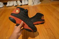 "2017 NIKE AIR JORDAN 13 XIII RETRO ""BRED"" BLACK RED SIZE 11.5 VERY CLEAN"
